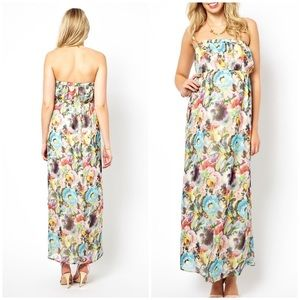 EUC Orla Kiely ASOS Maternity Floral Maxi Dress 2